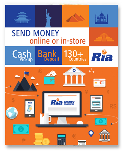 Ria Money Transfer Indian Grocery
